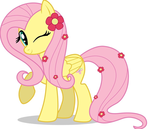 My Little Poney karatasi la kupamba ukuta probably with anime called Fluttershy