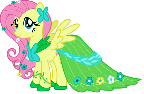 My Little Poney karatasi la kupamba ukuta called Fluttershy