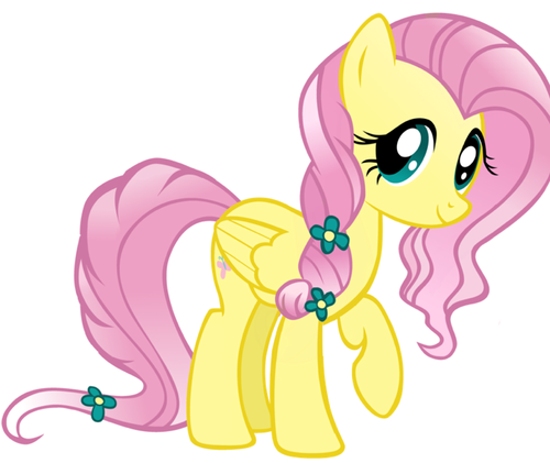 My Little poni, pony - La Magia de la Amistad fondo de pantalla possibly with anime titled Fluttershy