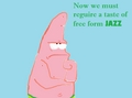 Free_Form_Jazz. - patrick-star-spongebob fan art