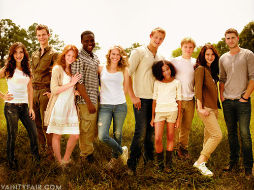 Hunger Games Cast - Friends
