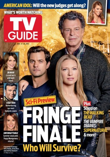Fringe is on the cover of TV Guide Magazine