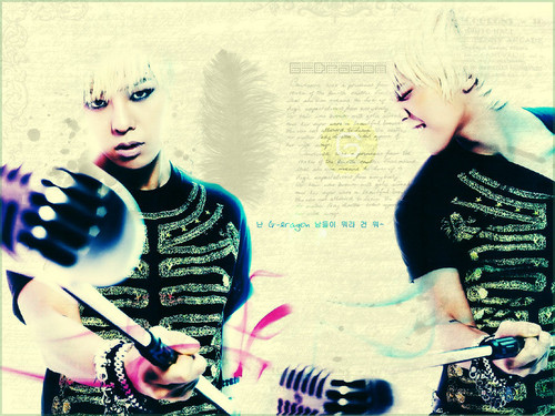G-Dragon wallpaper entitled G★DRAGON