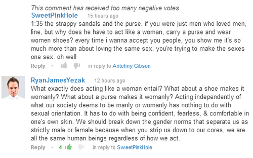 Gay Rights Youtube Comment