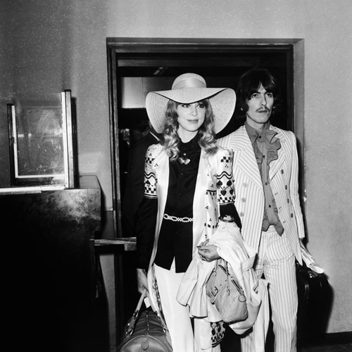 George Harrison & Pattie Boyd