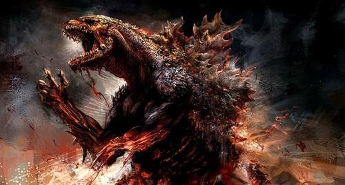 Godzilla 2014 tagahanga art