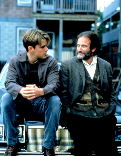 Robin Williams wallpaper containing a business suit entitled Good Will Hunting