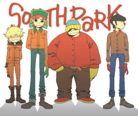 Gorillaz - South Park