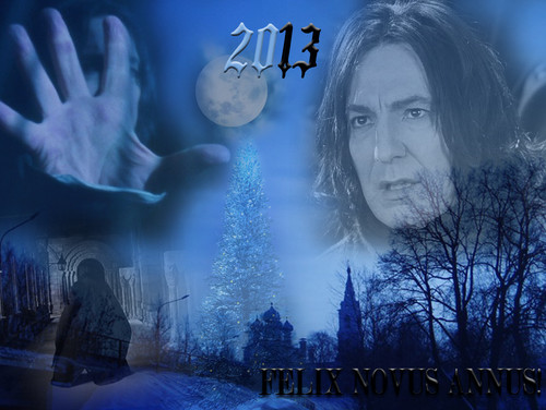 Severus Snape wallpaper entitled HAPPY NEW YEAR!