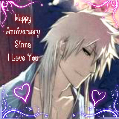 Happy Anniversary Sinna <333