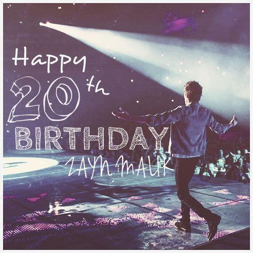 Happy B-Day Zayn