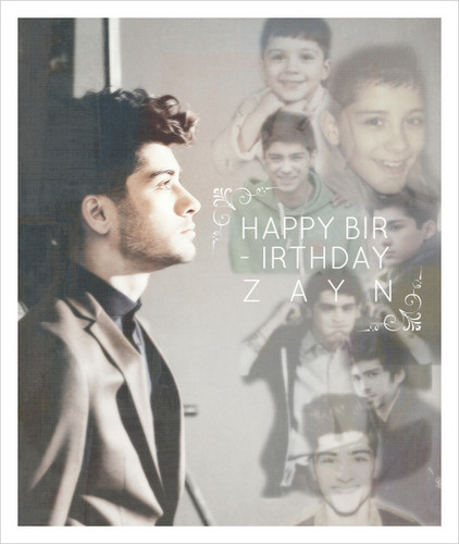 Happy Birthday Zayn! ♥