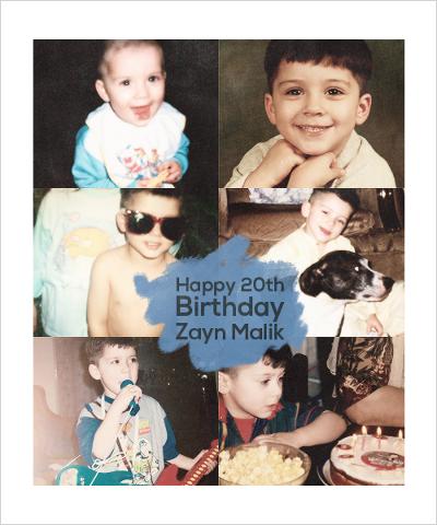 Happy Birthday Zayn! ♥