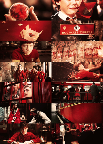 Harry Potter in red