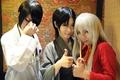 Hatori, Ayame, & Shigure cosplay