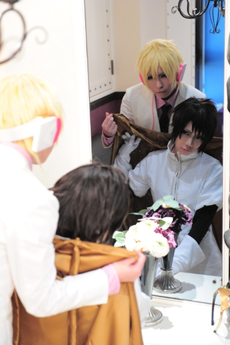 Hibiya & Delic cosplay