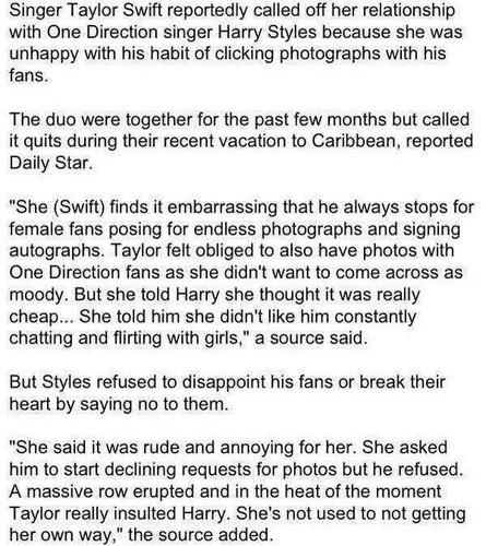 How Haylor broke up actually...read  it:)