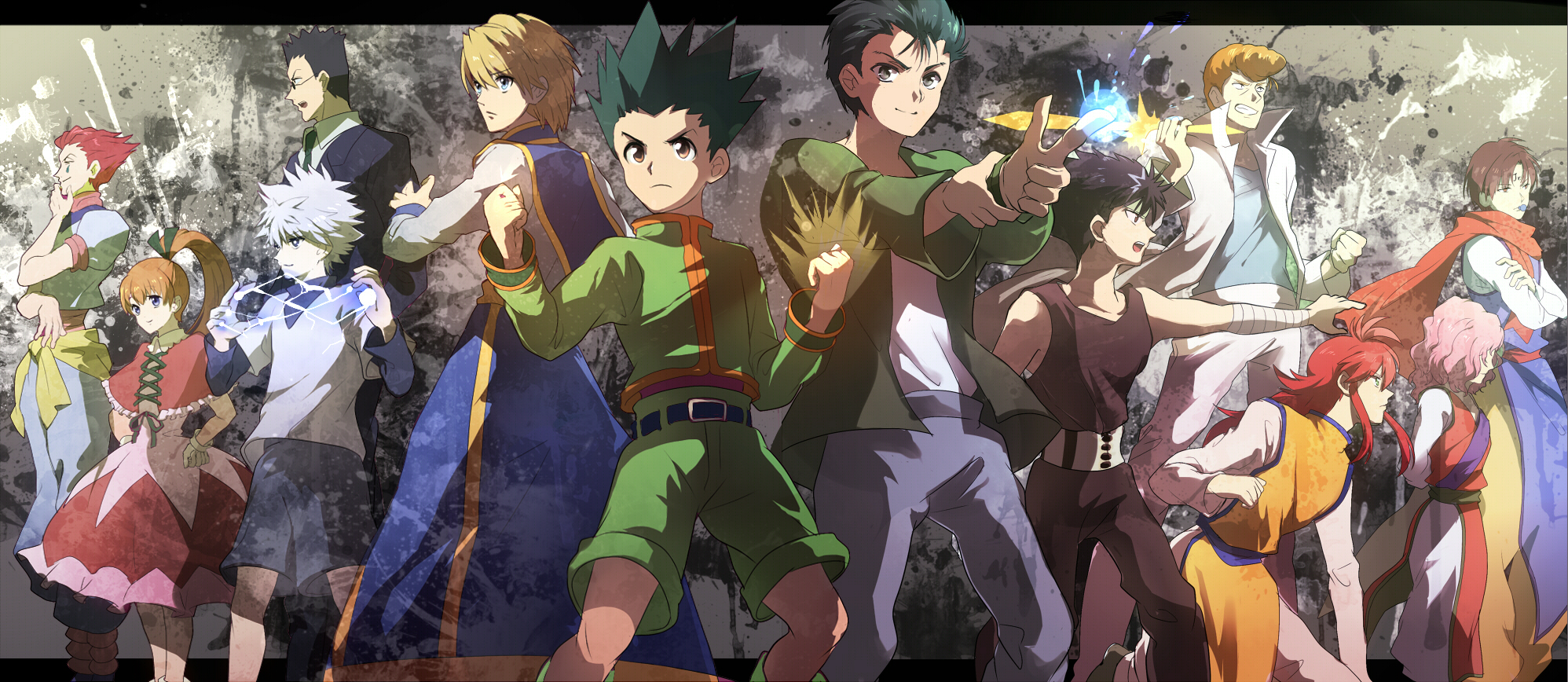 Anime Multiverse Images Hunter X Yu HD Wallpaper And Background Photos
