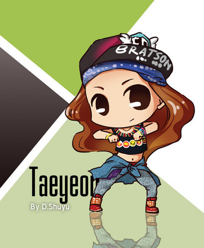 Girls Generation/SNSD wallpaper containing anime entitled I Got A Boy Chibis