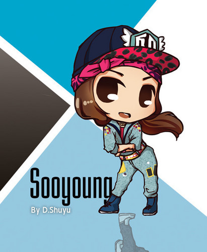 Girls Generation/SNSD wallpaper possibly containing anime called I Got A Boy Chibis