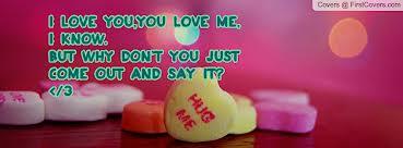 I kinda sorta really like you!