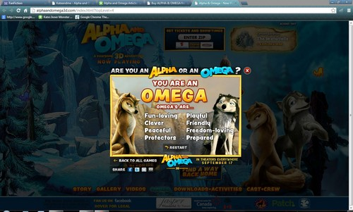 I'm an Omega!