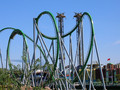 Incredible Hulk coaster - rollercoasters photo