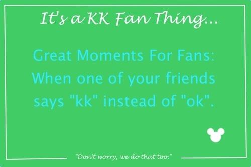Is a kk Fan thing