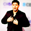 Jensen Ackles photo containing a well dressed person, a business suit, and an overgarment titled Jensen