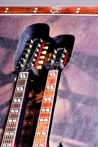 Jimmy Page art piece close ups