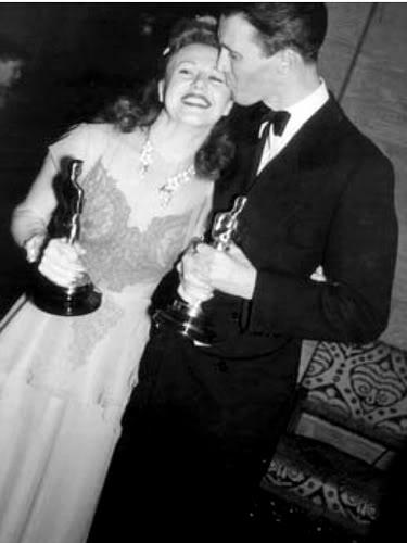 Jimmy Stewart & Ginger Rogers