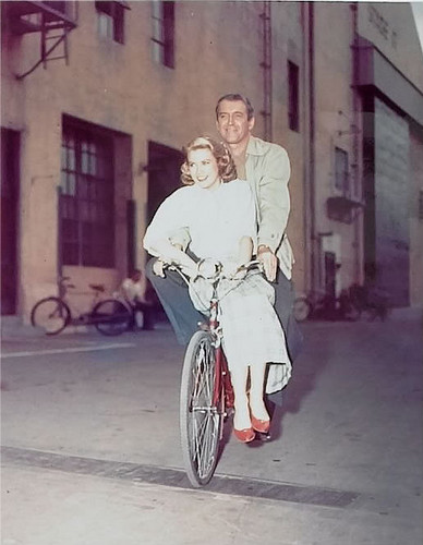 Jimmy Stewart & Grace Kelly