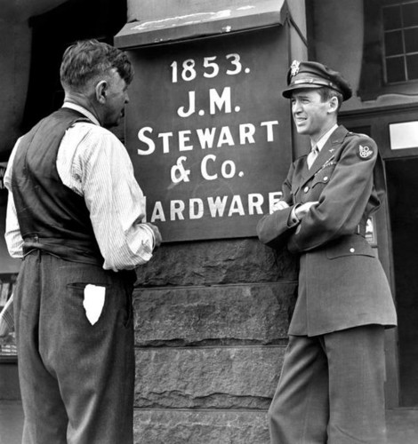Jimmy Stewart & his father