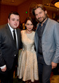 John Bradley, Emilia Clarke & Nikolaj Coster-Waldau - AFI Awards - game-of-thrones photo