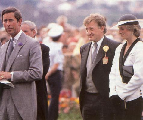 John Elliott and Princess Diana