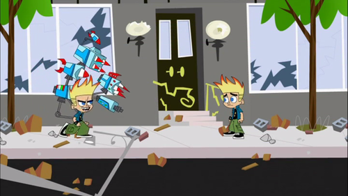 Johnny Test wallpaper entitled Johnny Droid