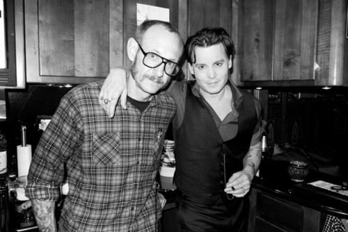Johnny and Terry Richardson