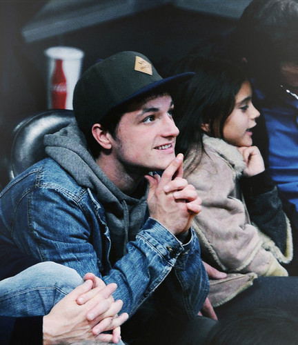 Josh at Lakers Games