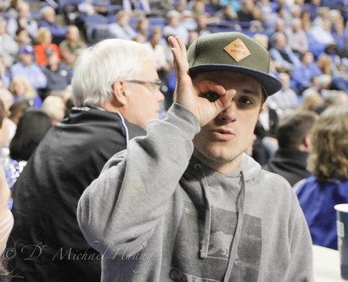 Josh at the UK game