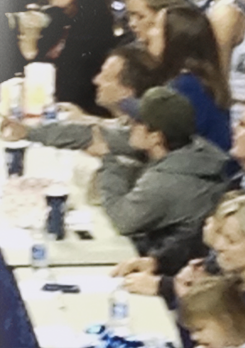 Josh at the UK game tonight
