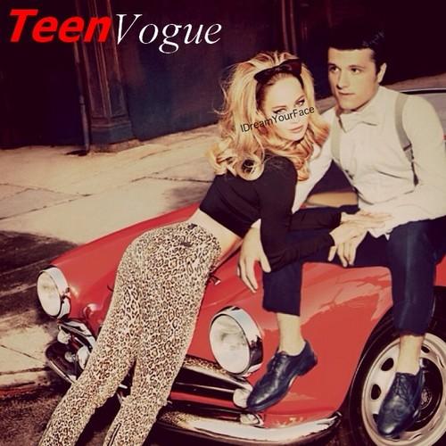 Joshifer Teen Vogue edit