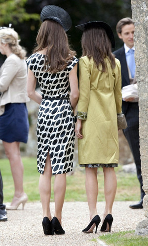 Kate and Pippa Middleton are Wedding Guests