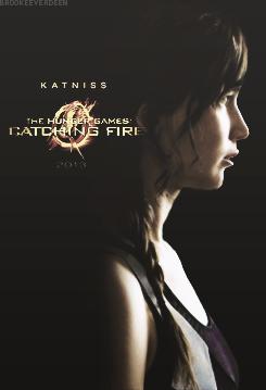 Katniss-Catching fogo