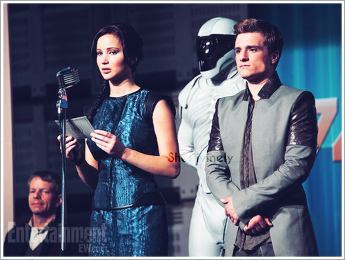 Katniss and Peeta in 'Catching Fire'!!!!!!!!!!!!!!!!!!