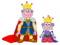 King Boots' Dad and Prince Boots - dora-the-explorer fan art