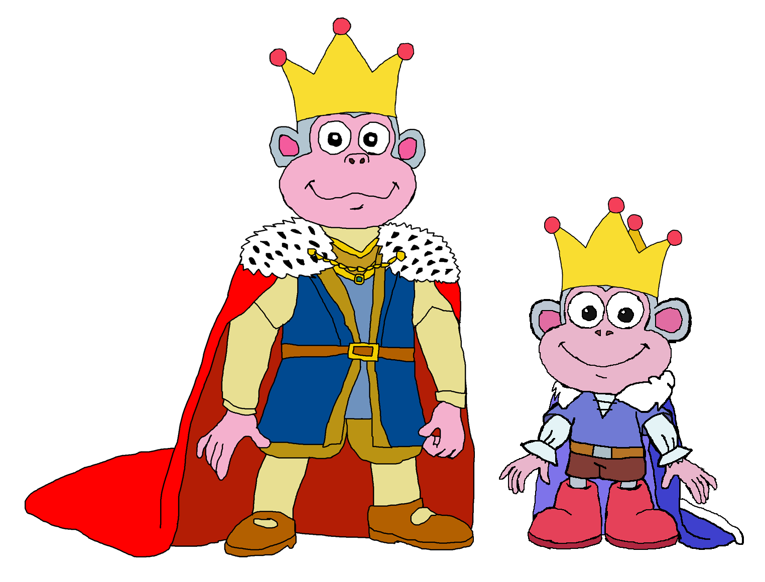 King Boots' Dad and Prince Boots