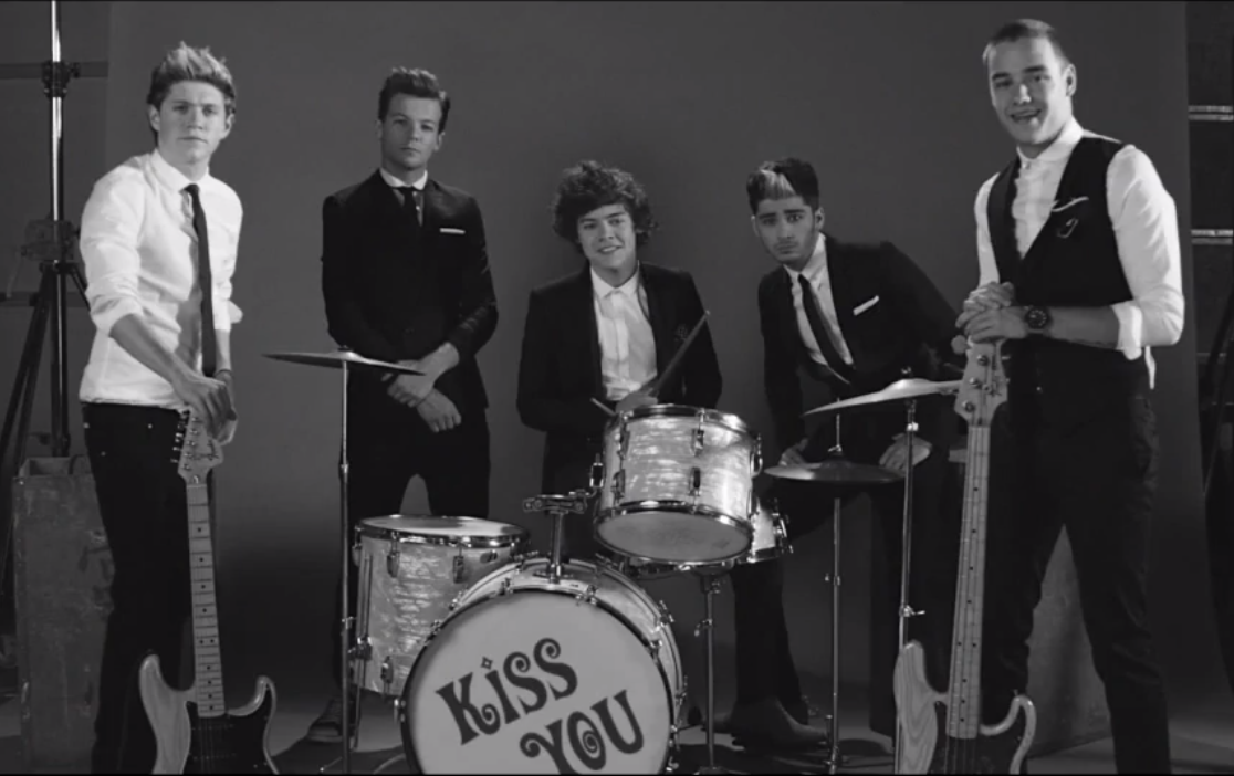 One direction images kiss you video shot hd wallpaper and background