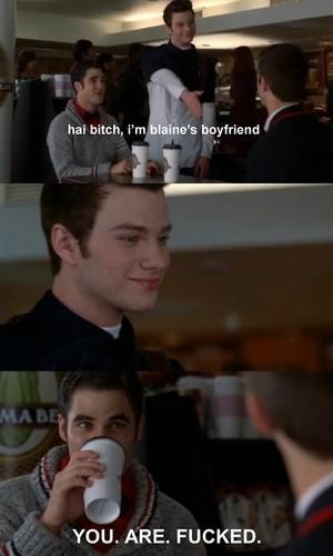 Klaine & Sebastian
