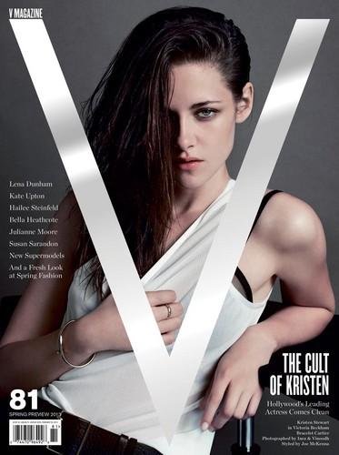 Kristen Stewart's V81 cover, photographed দ্বারা Inez & Vinoodh