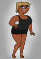 Leshawna- photoshoot 2 theme: makeovers - total-drama-island fan art
